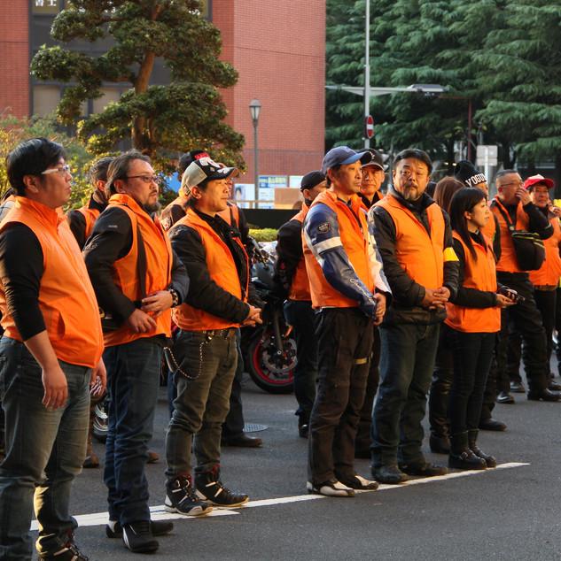 Orange bikers 2017