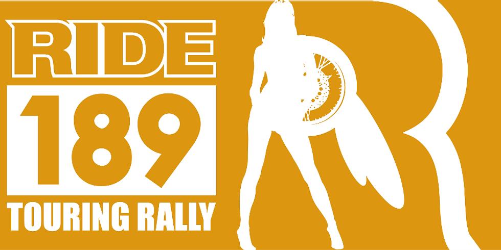 RIDE189 TOURING RALLY
