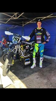 Shirt from Finland mx star Harri Kullas