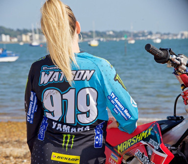 Signed Mx rider Ben Watson shirt