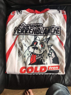 Signed Shirt from Shannon Terrenblanche