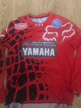 MX shirt from New Zealand Altherm Yamaha Owner and former Gp star Josh Coppins
