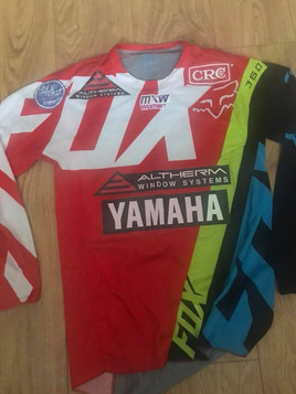 MX shirt from Courtney Duncan who is currently leading the women's GP world cham