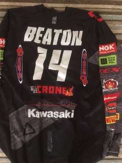 Motocross shirt from Australian world championship rider Jed Beaton