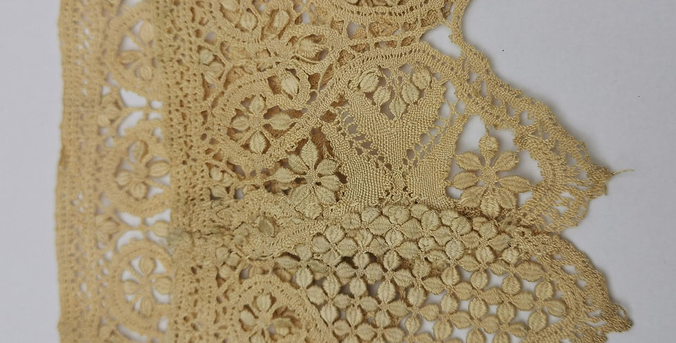 Victorian hand crocheted lace