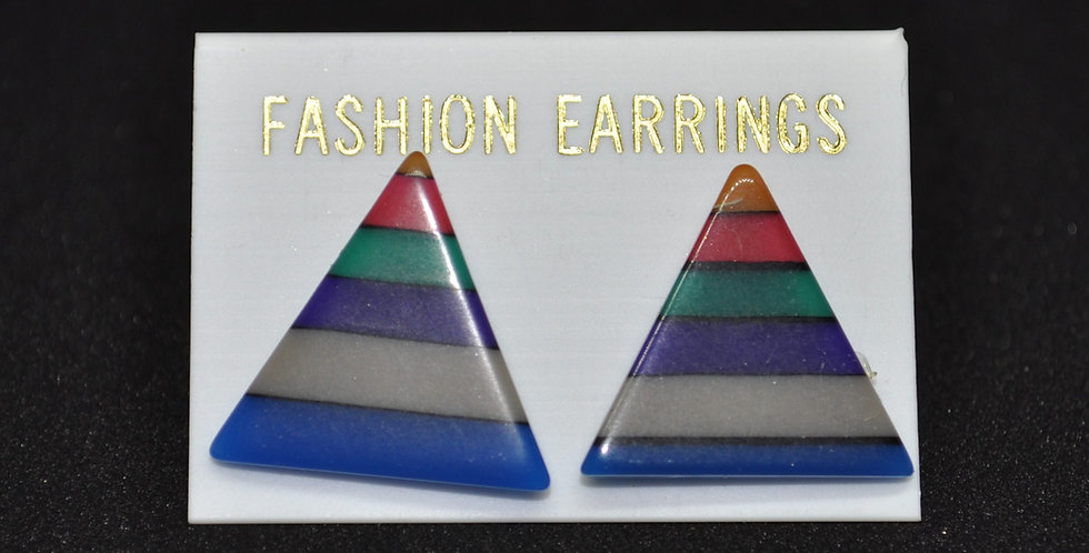 1960s PLASTIC EARRINGS