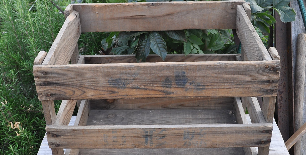 OLD JAPANESE APPLE CRATE