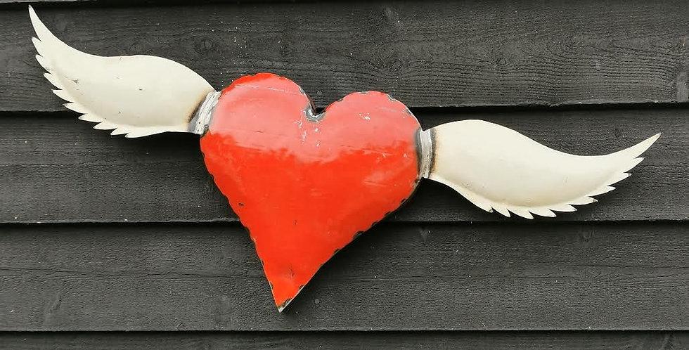 Flying Love Heart