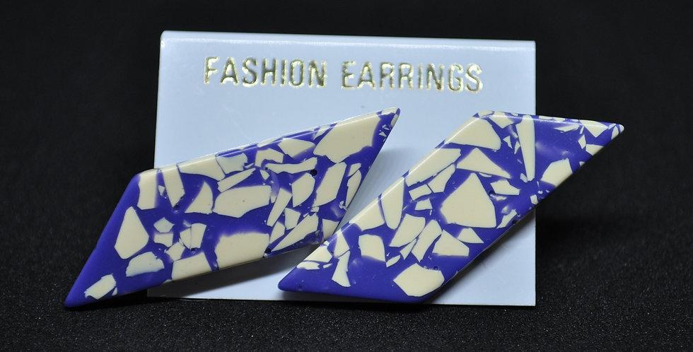 1960s PLASTIC EARRINGS
