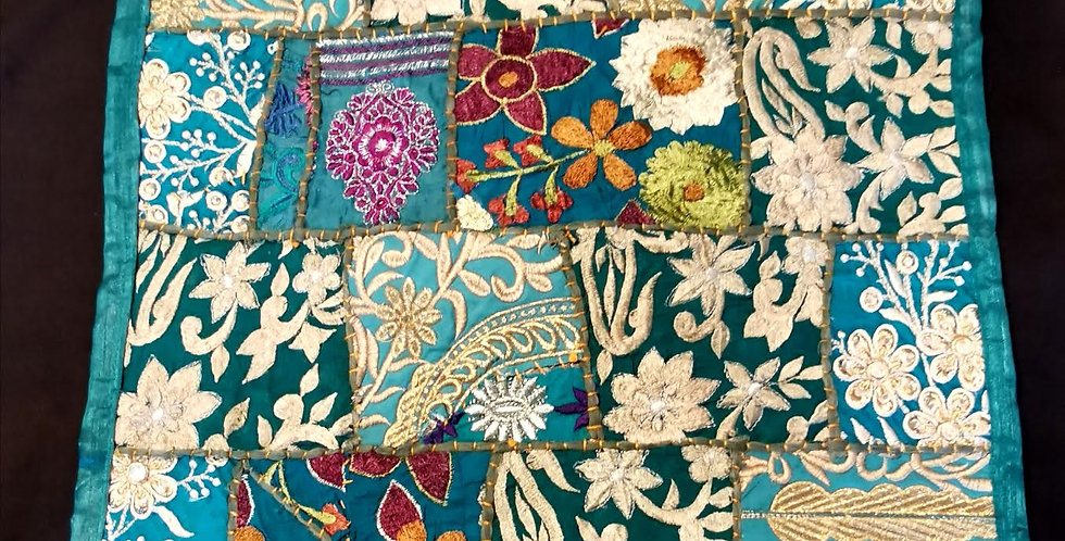 copy of Indian Vintage Patch Cushion Cover