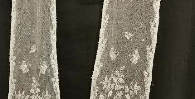 Victorian Lace dress detail