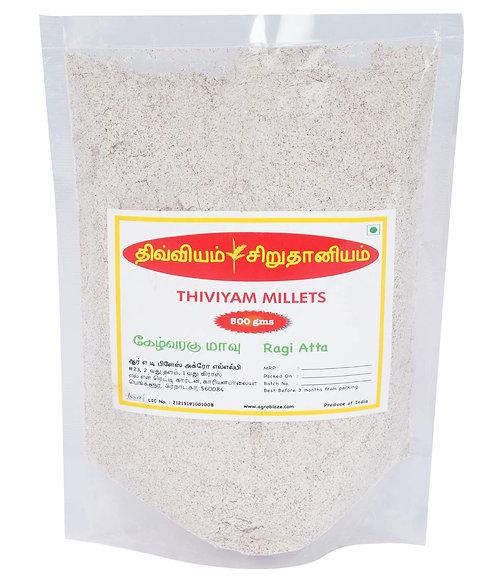 Thiviyam Ragi Flour (Nachni/Mandua/RaguluKezhvaragu/Kelvaragu) Flour 500gm