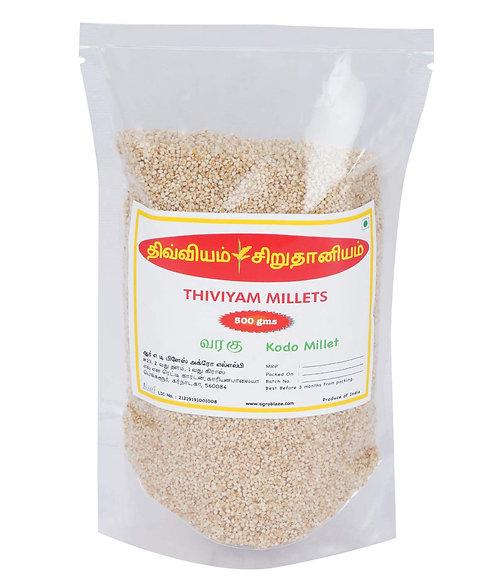 Thiviyam Kodo Millet (Varagu Araka Arikalu Kodon) Semi Polished 500gm