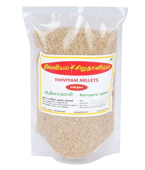 Thiviyam Barnyard Millet (kuthiraivali/Udhalu/sanwa/kodisama) Unpolished 500gm