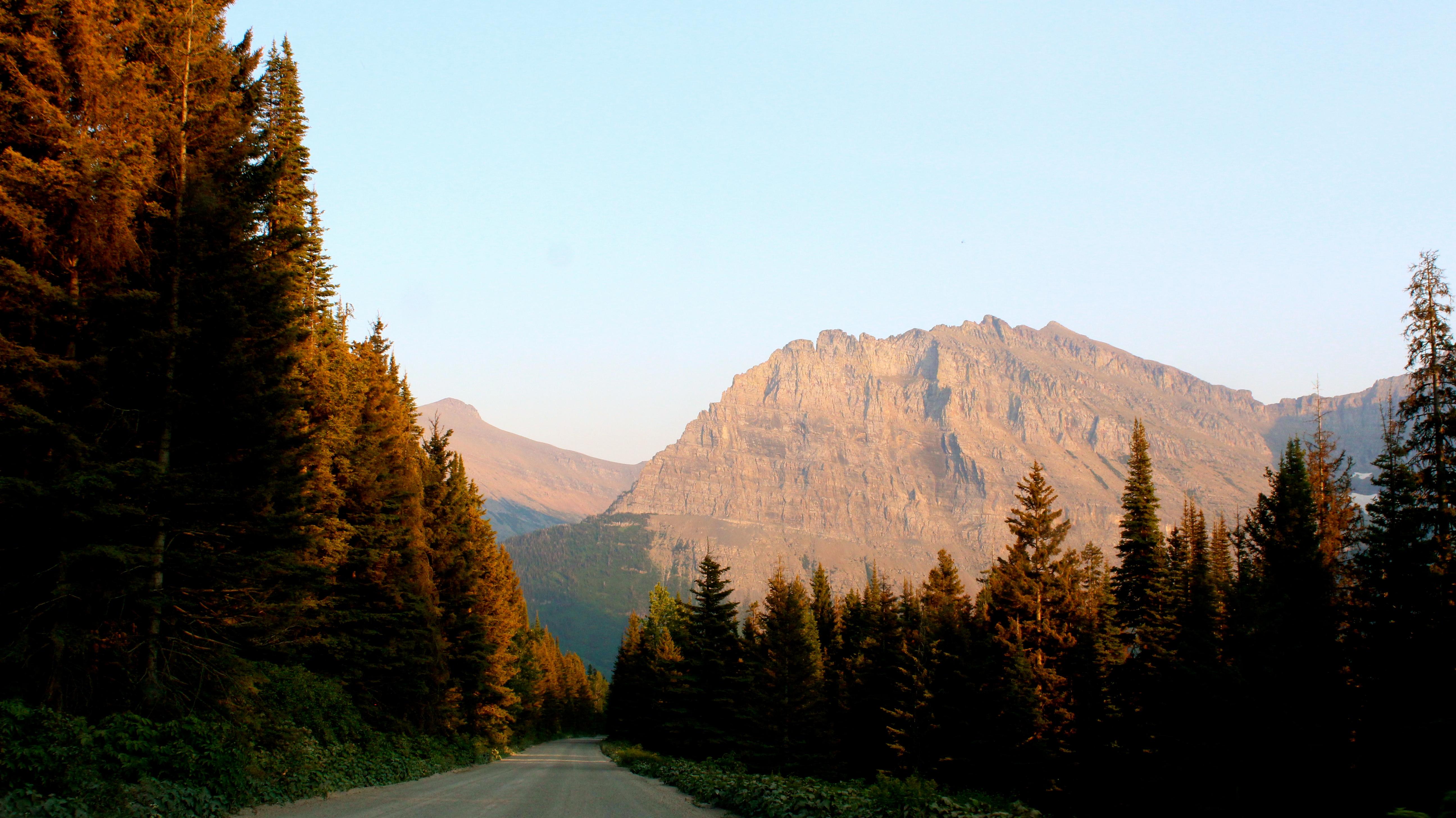 Going-To-The-Sun Road, Glacier Natio