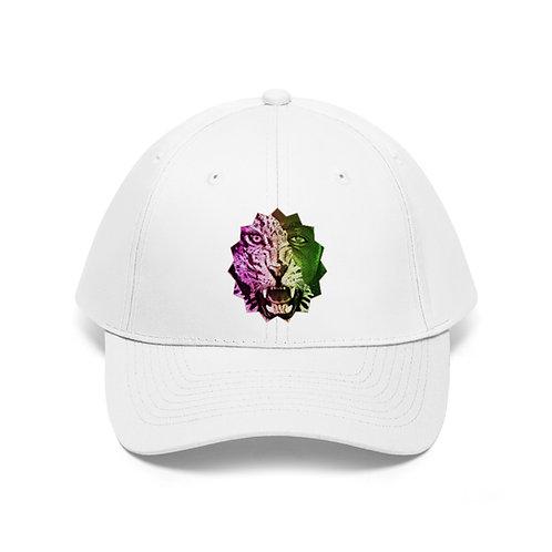 Stallion White Twill Hat
