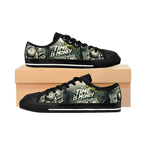 Time is Money Low top Sneakers