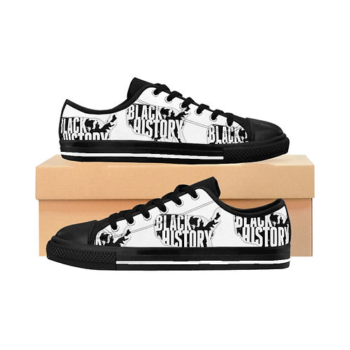 Black History Sneakers (white)