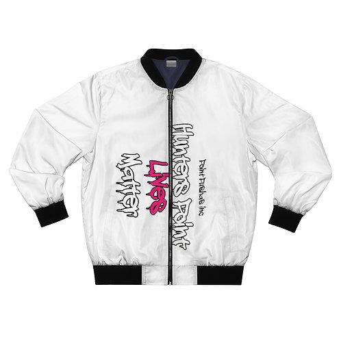 Pink HP Lives Matter Bomber Jacket