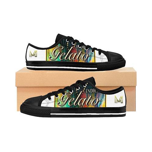 Menace Gelato White Sneakers