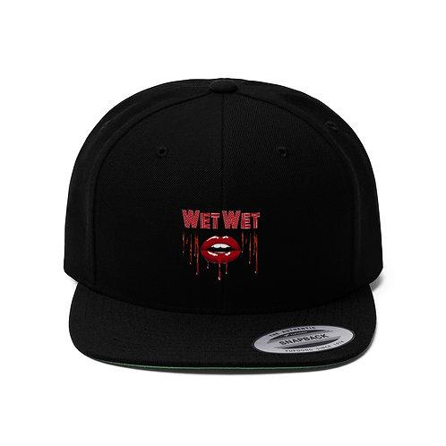 Wet Wet Flat Bill Hat