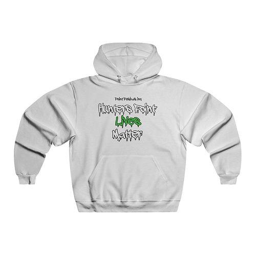 Green Black Lives matter Hooded Sweatshirt