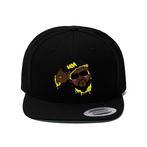 Menace Man Unisex Flat Bill Hat