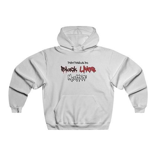 Red/black Black Lives matter Hooded Sweatshirt