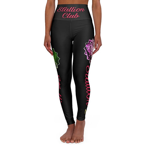 Stallion Black Leggings