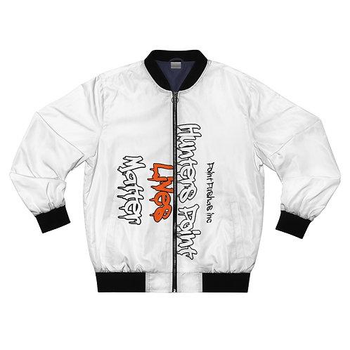 Orange HP Lives Matter Bomber Jacket