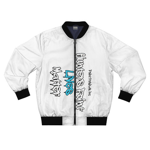 Blue HP Lives Matter Bomber Jacket