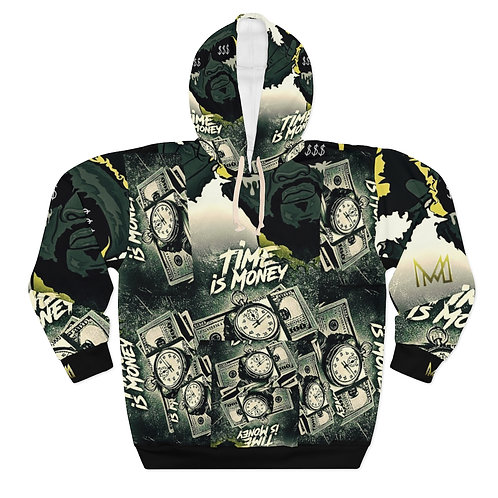 Time Is Money Pullover Hoodie
