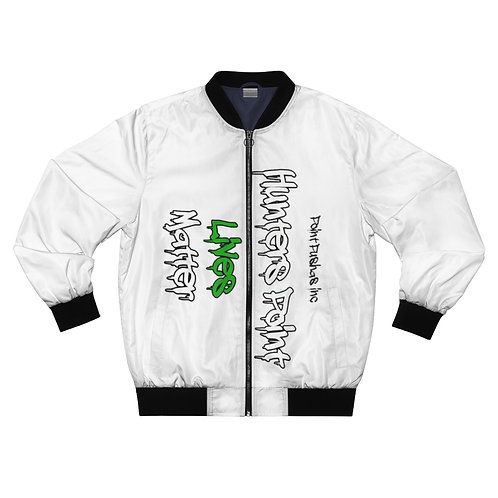 Green HP Lives Matter Bomber Jacket