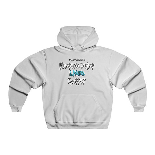 Blue Black Lives matter Hooded Sweatshirt