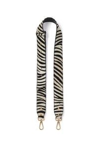 Leather Zebra Detachable Fabric Strap