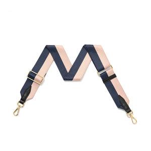 Pink & Blue Fabric Detachable Strap