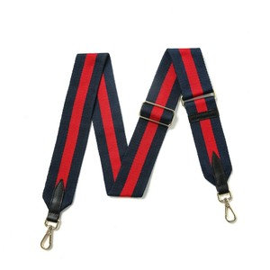 Blue & Red Fabric Strap