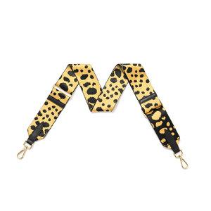 Leopard Print Detachable Fabric Strap