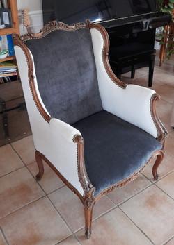 Restauration d'un fauteuil par votre tap