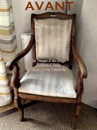 Restauration d'un fauteuil par votre tapissier rhone loire J Soly 1avant.jpg