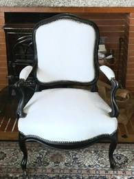 Restauration de fauteuil ancien par votr