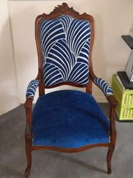 Restauration d un fauteuil par votre tap