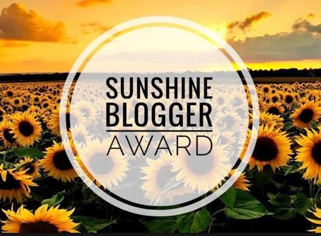 Disabled Disney Nominated For Sunshine Blogger Award