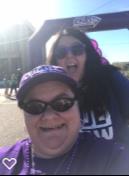 2 women at Alzheimer's Walk