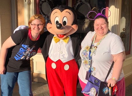 April A-Z Blogging Challenge: Character Meet & Greets at Disneyland