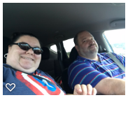 2 people in a car