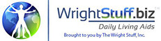 a body with writing( WrightStuff.biz Daily Living Aids Brought to you by The Wright Stuff Inc.