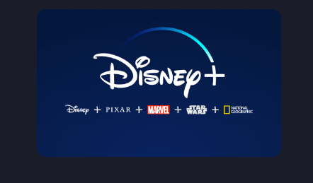 Says: Disney+ DIsney + PIXAR + Marvel + Star Wars + National Geographic