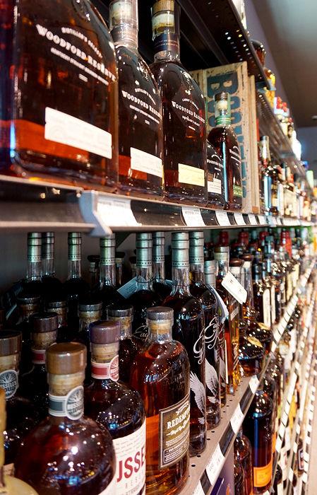 Ridgefield Wine and Spirits Liquor Selection