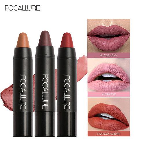 Lipstick 19 Colors Waterproof Matte Soft Texture